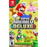 Super Mario Bros U Deluxe Switch Nuevo Y Sellado Easybuy