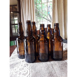 Botellas Envases Para Cerveza Artesanal De 500 Cc. Ambar