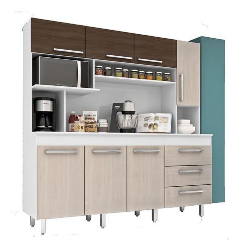 Mueble Cocina Kit Multiuso 7 Puertas Cajones 315 Sin Tapa en ...