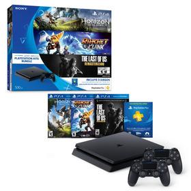 Ps4 Slim + 3 Juegos + 2 Controles Playstation Originales