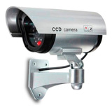 Camara De Seguridad Falsa Aspecto Super Realista Con Luz Led