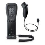 Control Wii Joystick Wiimote Mando Motion Plus + Nunchuck