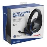 Auricular Gamer Ps4 Kingston Hyperx Cloud Inalambrico Tranza