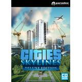 Cities Skylines Deluxe Pc + Online Steam Original