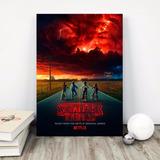 Stranger Things Poster En Mdf Cuadros De Colgar 40x60 Series
