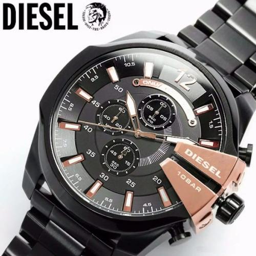 14861ad6bebb Reloj Diesel Dz4283 Mega Chief Original 10 Bar Super Promo