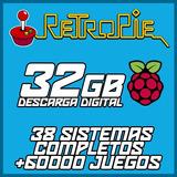 Retropie - Raspberry - 32gb / +60 Mil Juegos - Descargable