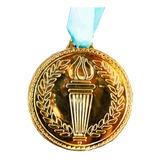 Medalla Dorada Plástico Fútbol Basketball Hockey Mvd Sport