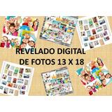 Revelado Digital De Fotos De 13 X 18 $ 11 Sin Bordes Blancos