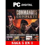 Commandos Pc Comandos / Español Colección Completa Digital