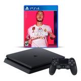Playstation 4 Slim 1tb + Fifa 20 Español, Macrotec