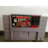 Super Nintendo Donkey Kong Country Original