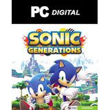 Sonic Generations 20 Años Pc / Edición Completa Digital