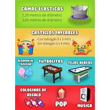 Alquiler Castillo Inflable, Cama Elástica, Tejo, Futb Y Mas