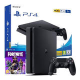 Ps4 Playstation 1tb Nueva+80juegos+fortnite+pes2019 Chitogam