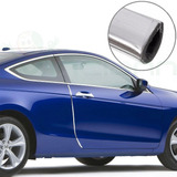 Guarda Protectora Puertas Auto Cromada Flexible .x1m Mod38