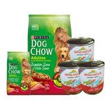 Dog Chow Adulto 21 + 3kg + 3 Pate + 6 Pagos