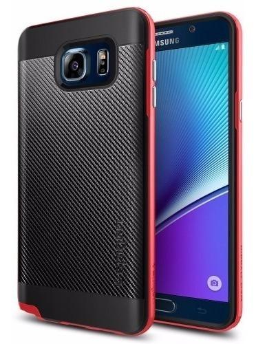 0cf9afb815c Funda Protector Samsung Galaxy Note 5 Spigen Neo Hybrid Geek