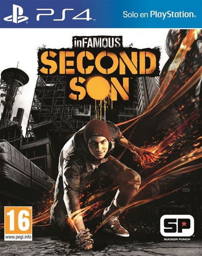 Infamous Second Son (fisico) Ps4