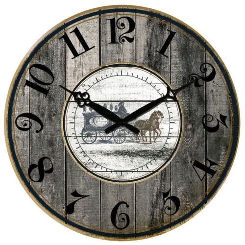 9f31db9f54b4 Reloj Antiguo De La Pared Rustic Large Art Home Decor Reloj