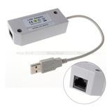 Conector De Adaptador De Red Lan Internet 2.0 Usb Ethernet P