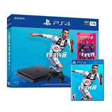 Consola Ps4 Playstation 4 Sony 1tb Bundle + Fifa 2019 Febo
