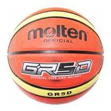 Pelota Basket Molten Gr5 Goma Nº5 Original Basquetbol El Rey