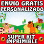 Kit Imprimible Animalitos De Granja Perzonaliza Gratis Candy