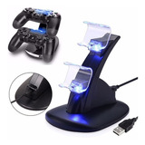 Cargador Y Soporte De Control Ps4  Play Station 4 ® Calidad