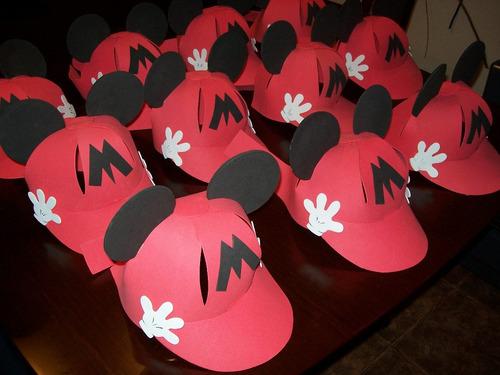 Cotillon en goma eva de Mickey - Imagui