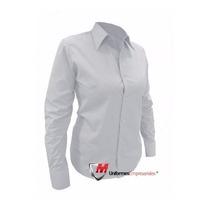 a53f5264c857 Camisa De Vestir Ejecutiva Dama, Blanco, Celeste en venta en La ...