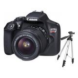 Camara Digital Canon Eos Rebel T6 Gtia Oficial + Regalo Amv