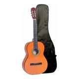 Guitarra Clasica Memphis 851 Estudio Natural Con Funda - Ub
