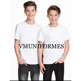 Remera Camiseta Sublimables Niño
