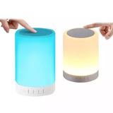 Mini Lámpara Bluetooth, Parlante, Efecto De Luztouch