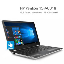 Notebook Hp 15-au018 Core I7 12gb Ram Geforce 940mx 2gb New