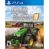 Farming Simulator 2019 Juego Ps4 Original + Garantía