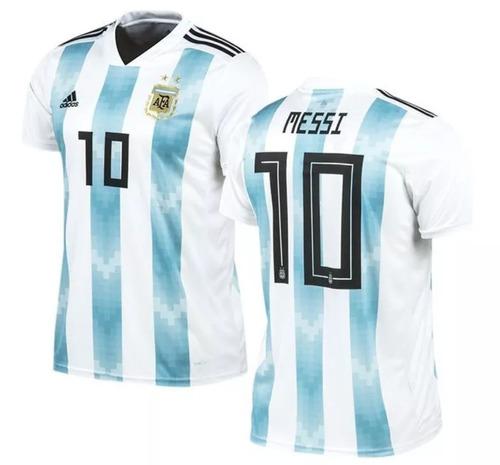 Camiseta adidas Argentina (afa) Messi Rusia 2017 - 2018 92591c5ad1332