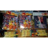 Souvenirs Mini Libro Colorear +colores Animales,personajes,