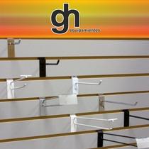 Panel Ranurado Tienda Exhibidores Ideal Para Comercios
