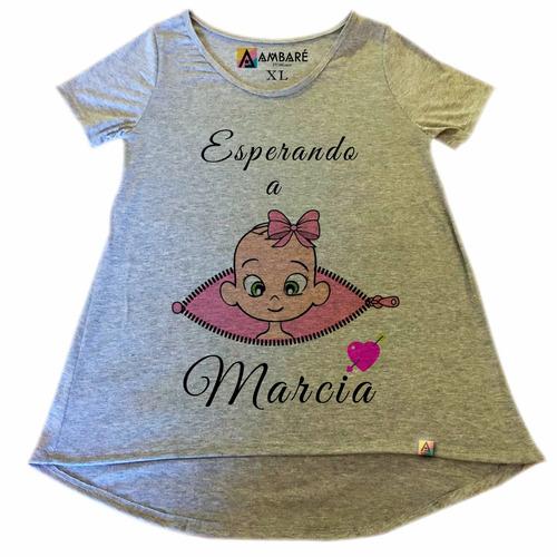 c09e38687 Remera Personalizada Embarazada Camisetas Blusas Futura Mama