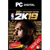 Nba 2k19 2019 Pc + Español Anniversary Edition Digital