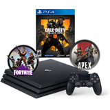 Ps4 1tb Call Of Duty Black Ops 4+80 Freegames+fortnite+apex