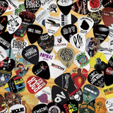Púas De Guitarra Personalizadas A Todo Color. Toques Eventos