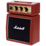 Amplificador De Guitarra Marshall Ms2  Microamp Rojo