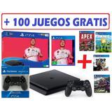 Play 4 Nuevo + Fifa 20 + Control Extra +  Juegos De Regalo