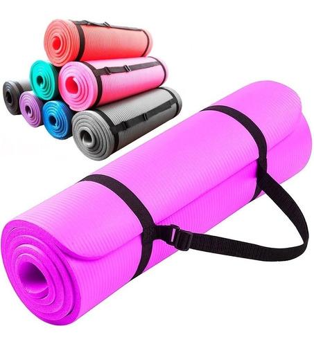 Colchoneta Yogamat Pilates Gimnasia Abdominales 10mm El Rey