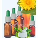 Frasco Vidrio Ambar 30ml Con Gotero Homeopatía Bach Aceites