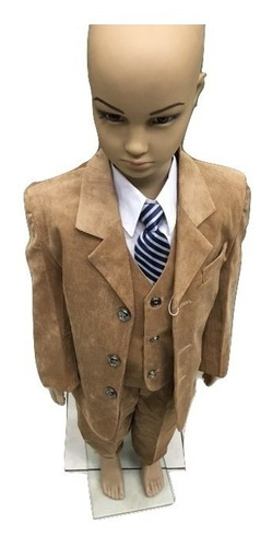 950151b4be76 Traje Completo Niño Con Chaleco Camisa Y Corbata - $ 2000 en Melinterest