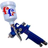 Pistola Pintar Aerografo Retoque Hvlp 150cc Gravedad Tuning